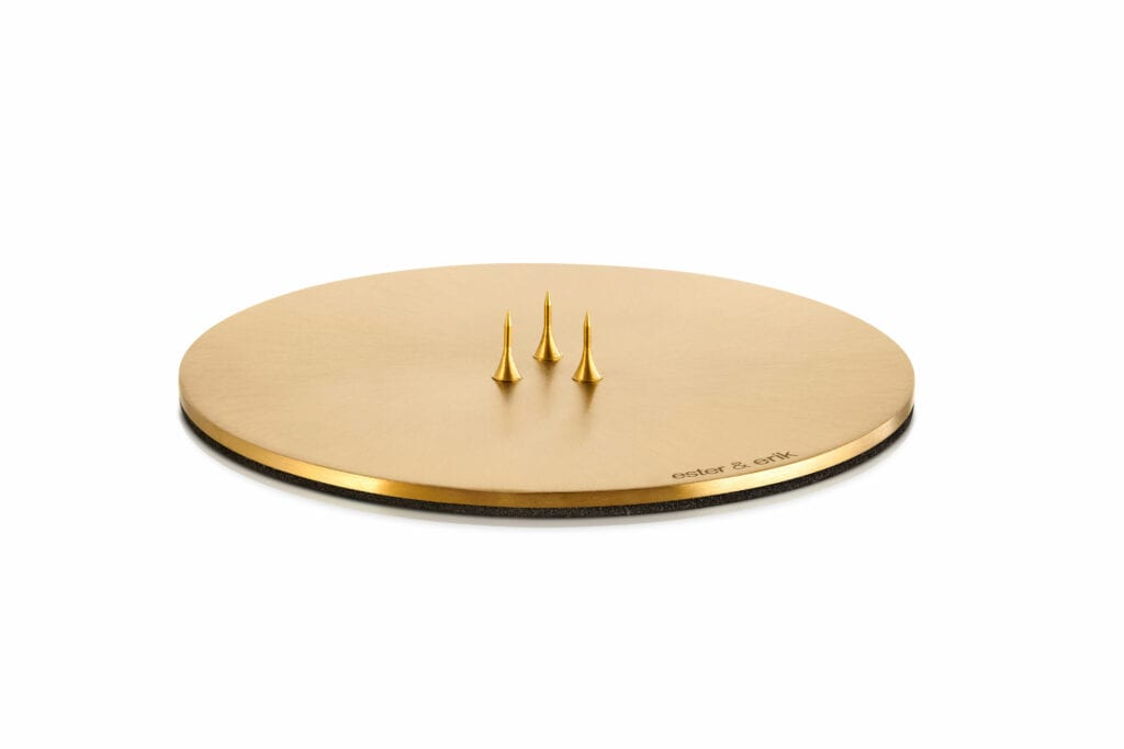 Candle_plate_gold_matt