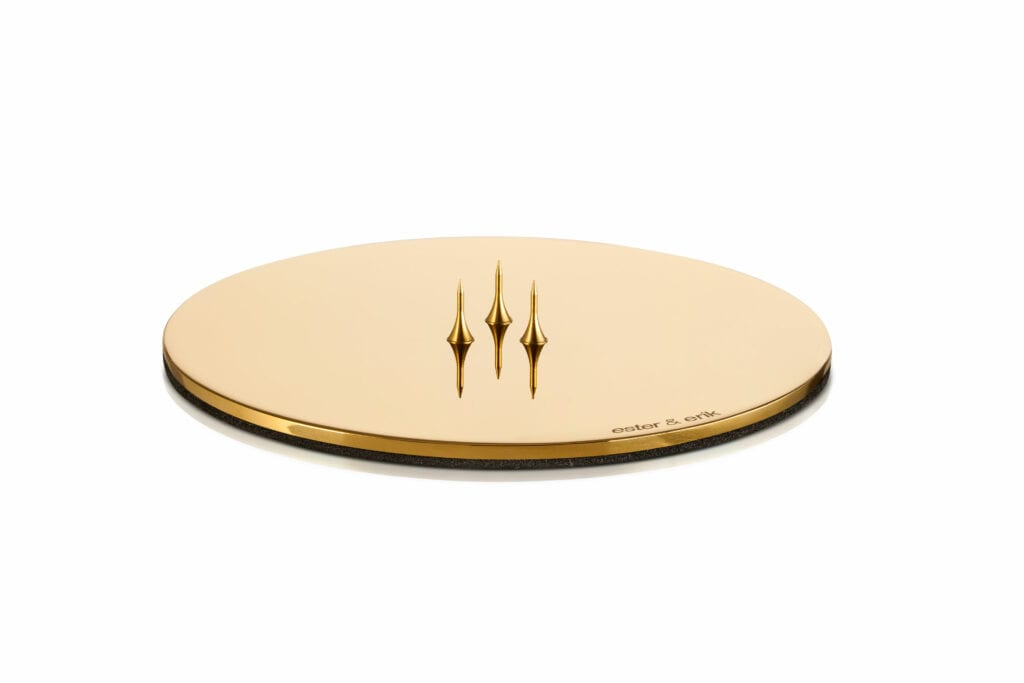 Candle_plate_gold_shiny